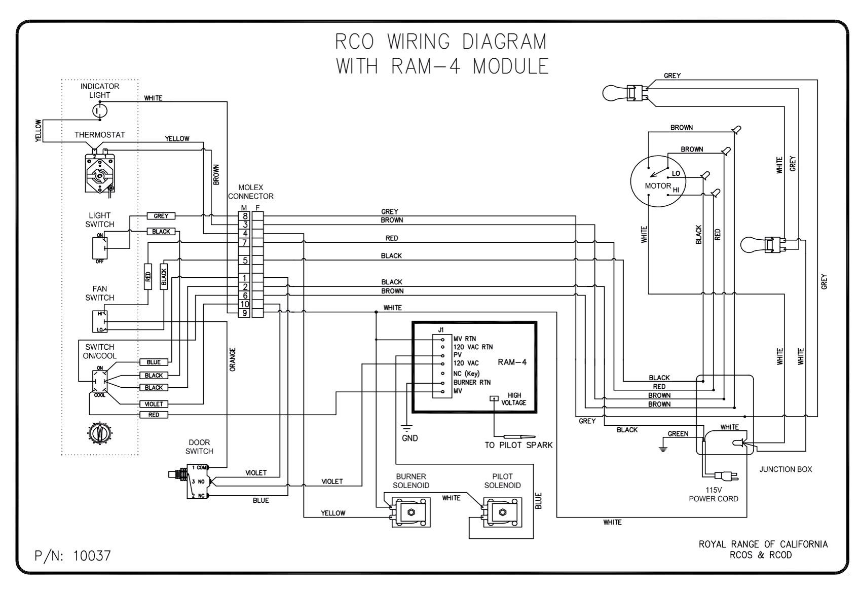 wiring diagrams royal range of california rh royalranges com