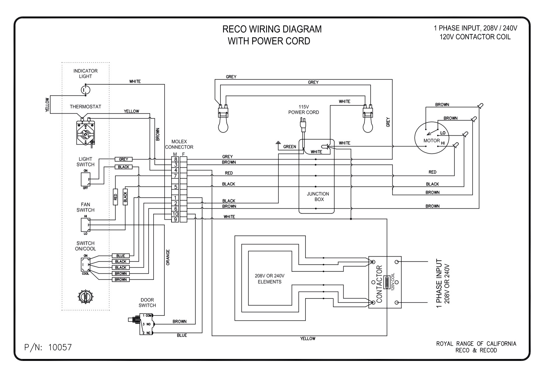 Caravan 240V Wiring Diagram from royalranges.com