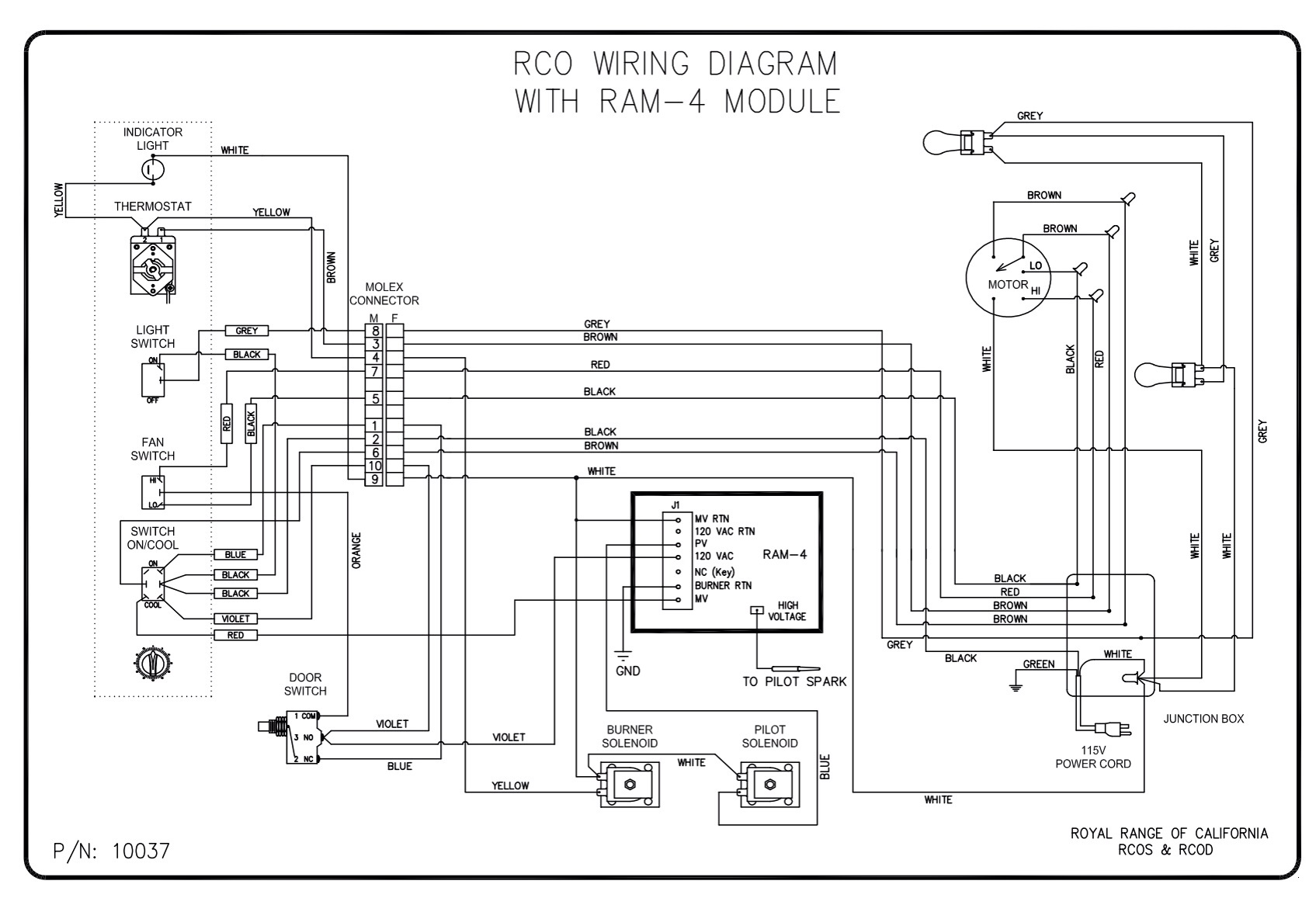 Defy 425 Stove Wiring Diagram Solutions California Trailer Fan