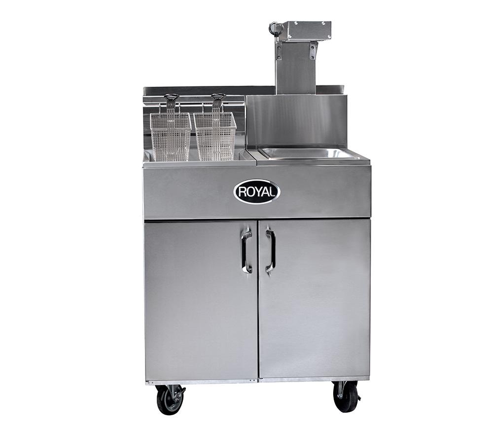 Splash Fryer-filter-sidecar